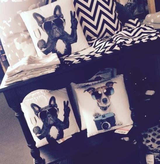 partydogs tierisch coole kissen mit hundemotiv. Black Bedroom Furniture Sets. Home Design Ideas