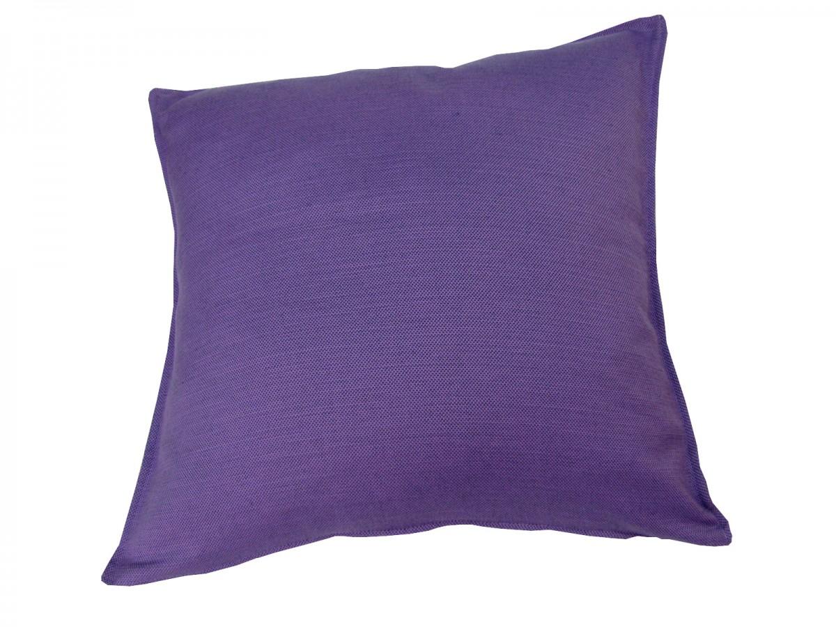 gro es xxl dekokissen kissen mit f llung milano 80x80 lila farbwelten beerent ne. Black Bedroom Furniture Sets. Home Design Ideas