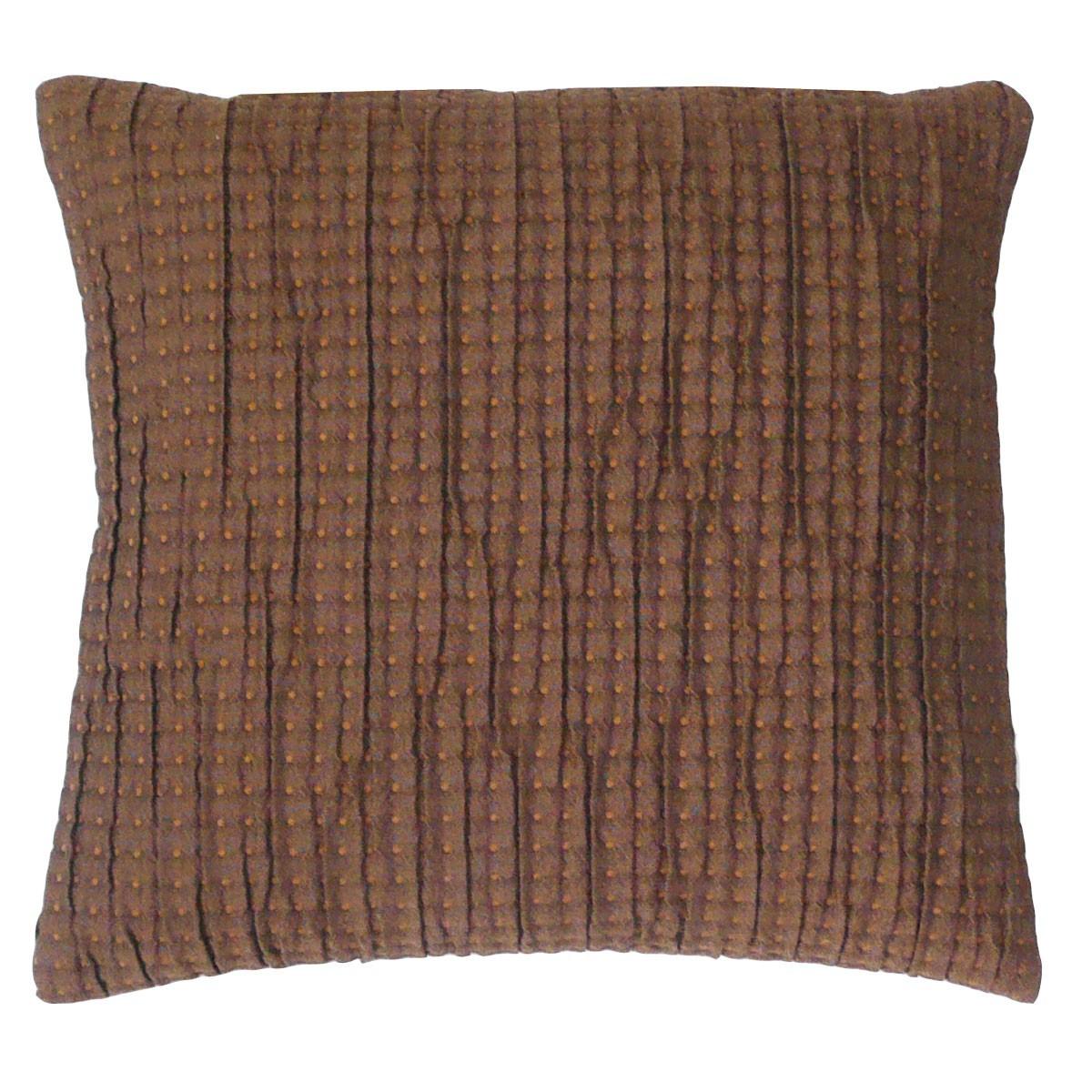 kissen dekokissen braun kleine punkte 40x40cm farbwelten. Black Bedroom Furniture Sets. Home Design Ideas